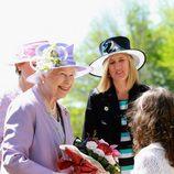 Isabel II de Inglaterra y el duque de Edimburgo en su visita a Australia