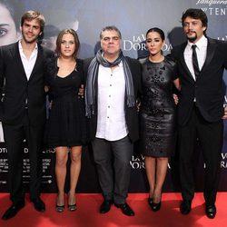 Benito Zambrano, Marc Clotet, María León, Inma Cuesta y Daniel Holguín estrenan 'La voz dormida' en Madrid