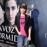 Leticia Dolera en el estreno de 'La voz dormida' en Madrid