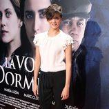 Macarena Gómez en el estreno de 'La voz dormida' en Madrid