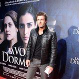 Jesús Olmedo en el estreno de 'La voz dormida' en Madrid