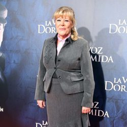 María Garralón en el estreno de 'La voz dormida' en Madrid