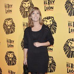 María Casado en el estreno del musical 'El Rey León' en Madrid