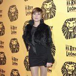 Sandra Barneda en el estreno del musical 'El Rey León' en Madrid
