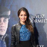 Hiba Abouk en el estreno de 'La voz dormida' en Madrid