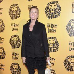 Anne Igartiburu en el estreno del musical 'El Rey León' en Madrid