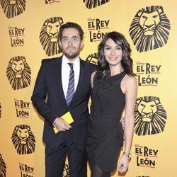 Màxim Huerta y Marta Fernández en el estreno del musical 'El Rey León' en Madrid
