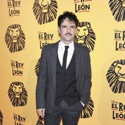 Raúl Peña en el estreno del musical 'El Rey León' en Madrid