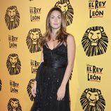 Priscila de Gustín en el estreno del musical 'El Rey León' en Madrid