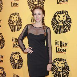 Marta Hazas en el estreno del musical 'El Rey León' en Madrid