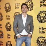 Jesús Vázquez en el estreno del musical 'El Rey León' en Madrid