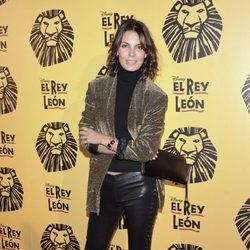 Mar Flores en el estreno del musical 'El Rey León' en Madrid
