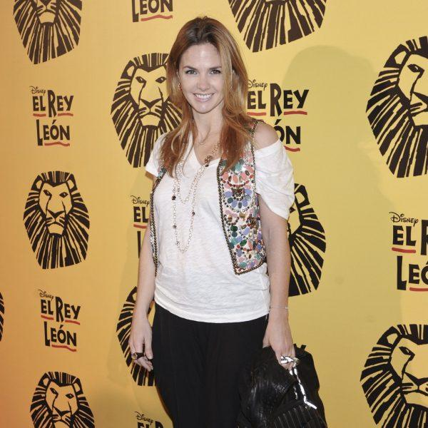 Famosos en el estreno del musical 'El Rey León' en Madrid