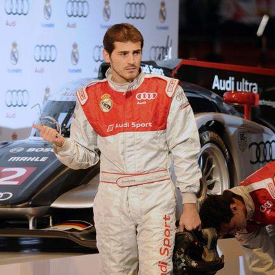 Iker Casillas en la promoción de 'Audi'
