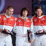 Benzema, Granero y Ramos, ganadores de los Karts