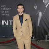 Justin Timberlake en el estreno 'In time' en Los Ángeles