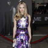 Amanda Seyfried en el estreno 'In time' en Los Ángeles