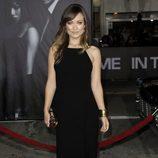 Olivia Wilde en el estreno 'In time' en Los Ángeles
