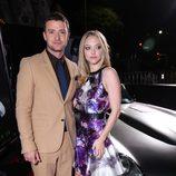 Amanda Seyfried y Justin Timberlake en el estreno de 'In time' en Los Ángeles