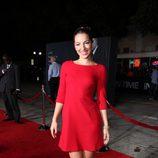 Vanessa Lengies en el estreno de 'In time' en Los Ángeles