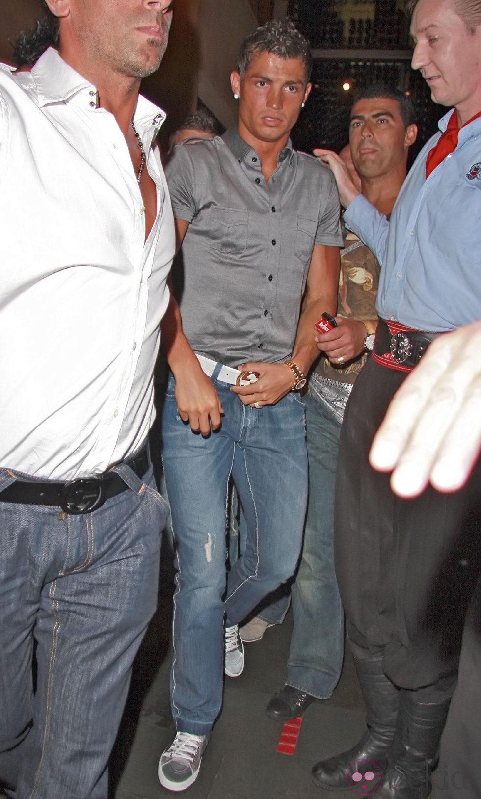 Cristiano Ronaldo borracho por las calles de Los Ángeles