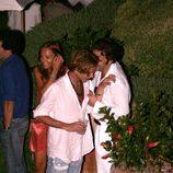Andrea Casiraghi borracho durante una fiesta en Italia
