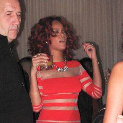 Rihanna pillada borracha durante una fiesta en Las Vegas