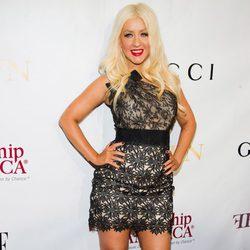 La cantante Christina Aguilera