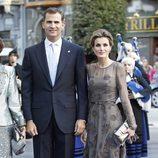 Los Príncipes Felipe y Letizia en los Premios Príncipe de Asturias 2011