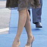 Los zapatos de doña Letizia en los Premios Príncipe de Asturias 2011