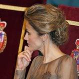 El peinado de doña Letizia en los Premios Príncipe de Asturias 2011