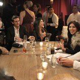 Kim Kardashian con su familia el día de su 31 cumpleaños