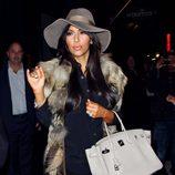Kim Kardashian el día de su 31 cumpleaños