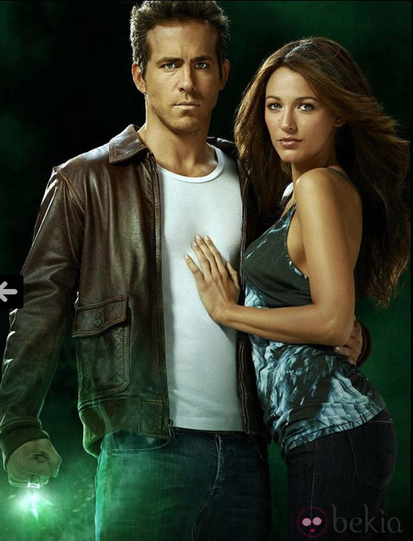 Blake Lively y Ryan Reynolds se conocieron durante el rodaje de 'Linterna Verde'