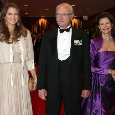 La Princesa Magdalena y los Reyes de Suecia en los 100 años de la Fundación Américo-Escandinava