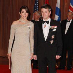 Los Príncipes de Dinamarca en los 100 años de la Fundación Américo-Escandinava