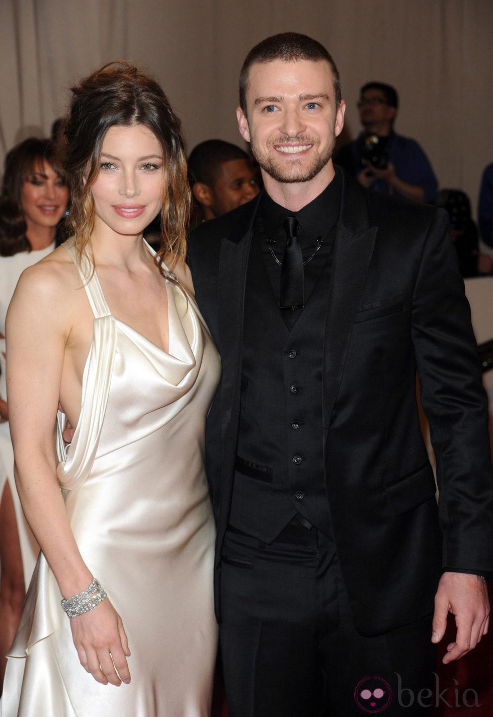 Justin Timberlake y Jessica Biel, una pareja muy atractiva