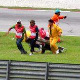 Trágico accidente de Marco Simoncelli en Sepang