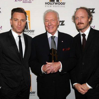 Ewan McGregor, Christopher Plummer y Mike Mills en los Hollywood Awards 2011