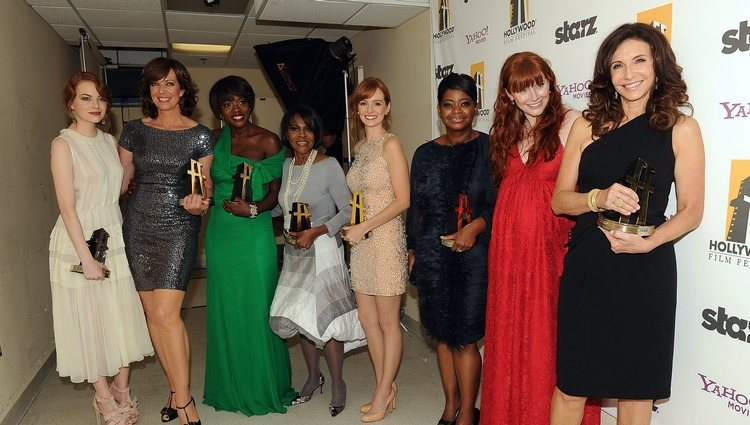 Las actrices de 'Criadas y señoras' en los Hollywood Awards 2011