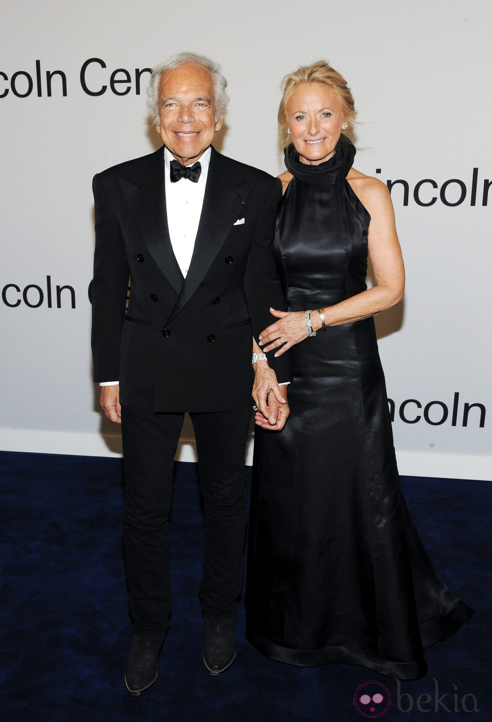 Ralph Lauren con su mujer Ricky en una fiesta homenaje al diseñador en Nueva York