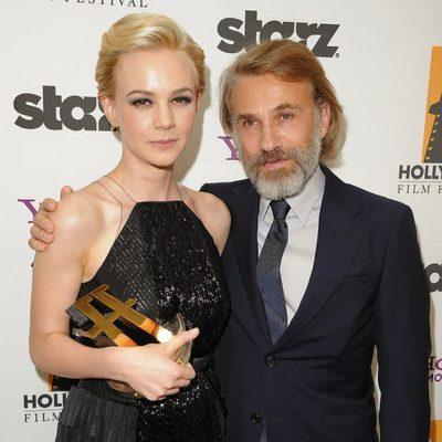 Carey Mulligan y Christoph Waltz en los Hollywood Awards 2011