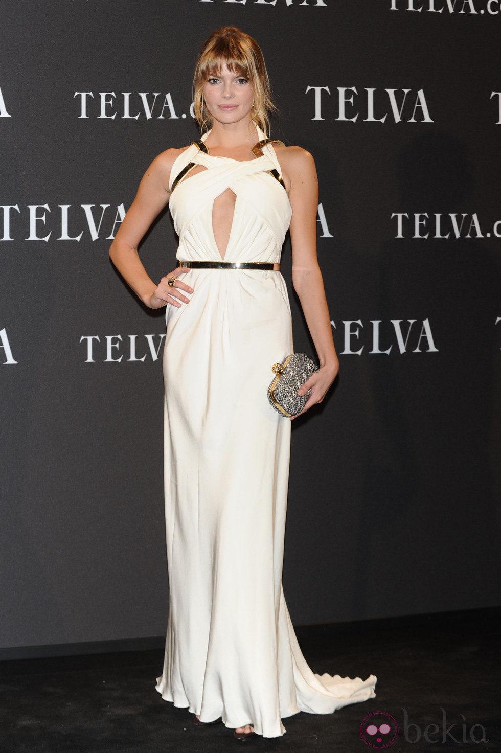 Cristina Tossío en los Premios T de Moda de Telva 2011