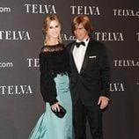 Carlos Baute y su mujer en los Premios T de Moda de Telva 2011