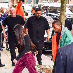 Kim Kardashian y Kanye West se reencuentran en Nueva York tras el atraco