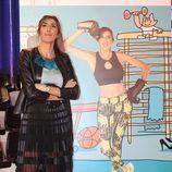 Paz Padilla en la presentación de la colección de retratos de 'Sálvame' por Javier Mariscal