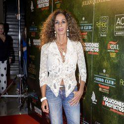 Rosario Flores en el estreno de 'El mundo entero'