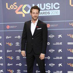 Peter Vives en la cena de nominados de los Premios 40 Principales 2016