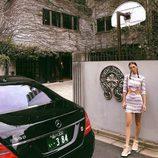 Bella Hadid marca tendencia con las zapatillas