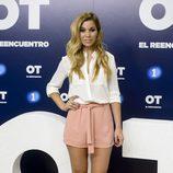 Natalia en la presentación de 'OT. El reencuentro'